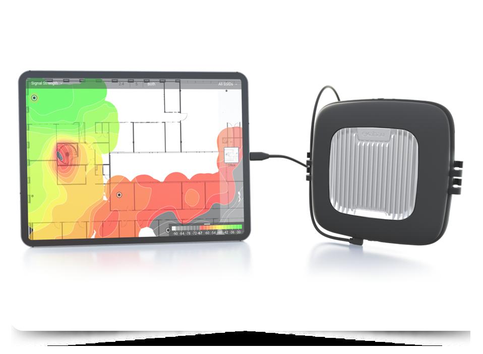 Ekahau Pro WiFi Survey Software with Ekahau Sidekick