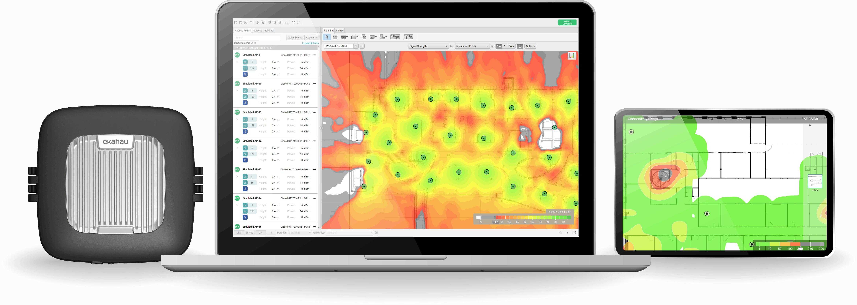 Ekahau Pro and Sidekick for WiFi Survey